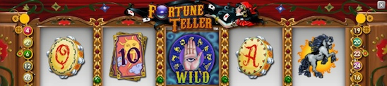 Net Entertainments videoslot Fortune Teller