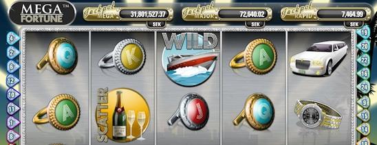Mega Fortune är videosloten som delat ut den högsta jackpotten från en slot online